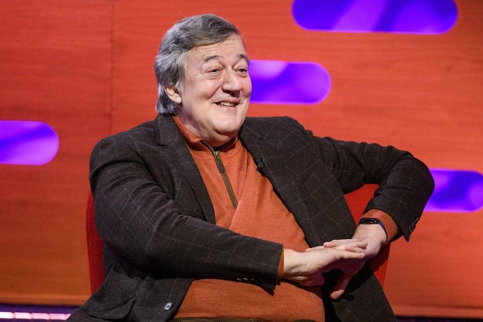 Stephen Fry is supporting the NHS Help Us, Help You campaign (Matt Crossick/PA) (PA Archive)
