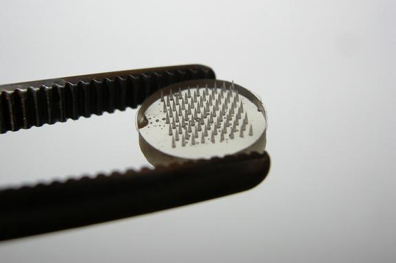 Micro-Needles Allow Painless DNA Vaccines