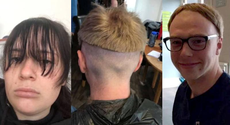 People are unable to see their hairdressers. (SWNS)