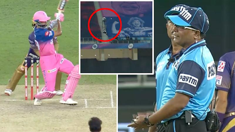 Rajasthan insisted that spider cam denied them a boundary against Kolkata.