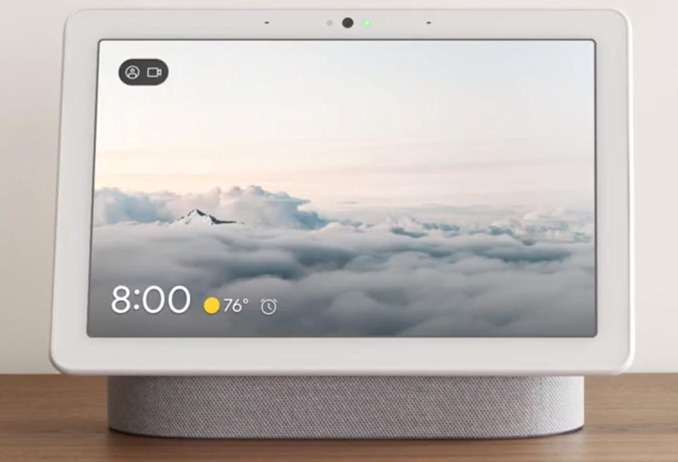 Google Nest Hub Max (Photo: store.google.com)