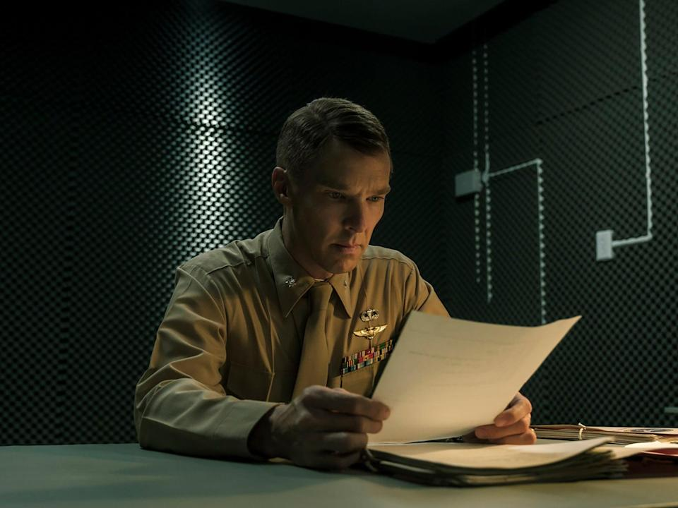 'Guantanamo doesn't have a place in our world': Cumberbatch in The MauritanianSTX/Amazon