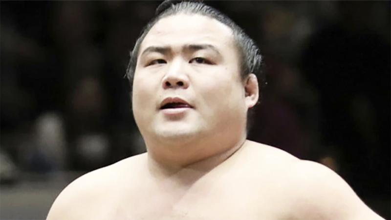 Shobushi, pictured here during a sumo wrestling event in 2019.