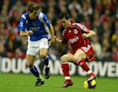 <p>Another Liverpool European Cup winner, he had vital moments in their 2005 triumph. </p>
