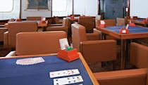 <p>Basketball players do love their card games, so this room should be a hot spot. (silversea.com) </p>