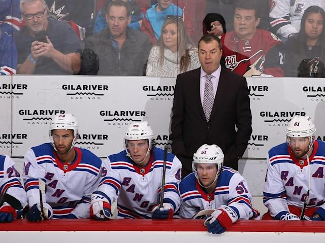 NHL: New York Rangers feuern Trainer Vigneault