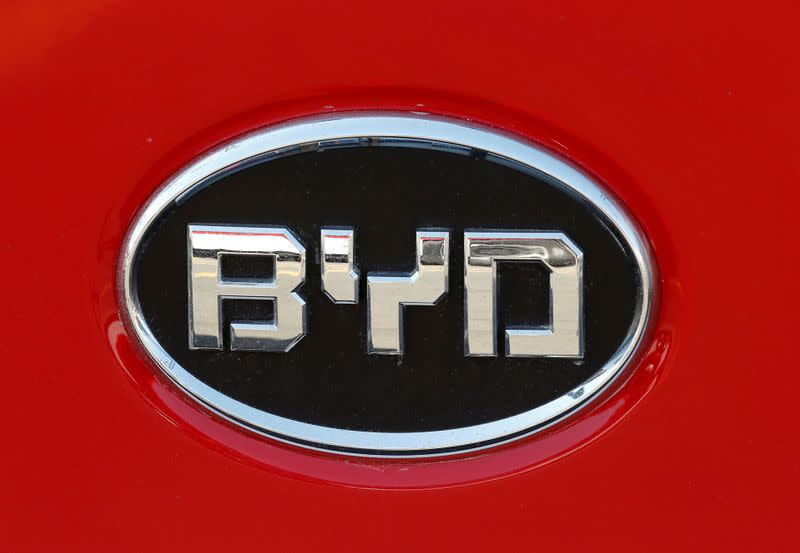 China's BYD, Toyota's Hino partner in electric commercial vehicles