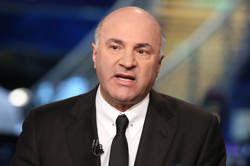 The biggest corporations won't get the biggest boost from the tax bill, Kevin O'Leary says