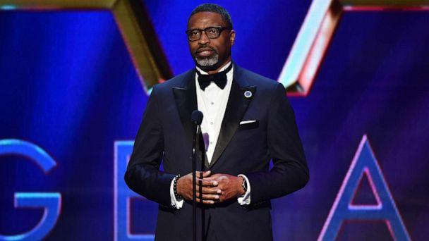 PHOTO: NAACP President and CEO Derrick Johnson speaks onstage during the 51st NAACP Image Awards, on Feb. 22, 2020 in Pasadena, Calif. (Aaron J. Thornton/Getty Images for BET, FILE)