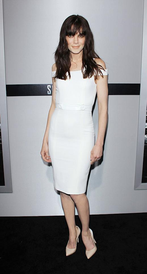 "<a href=""http://movies.yahoo.com/movie/contributor/1804504037"">Michelle Monaghan</a> attends the Los Angeles premiere of <a href=""http://movies.yahoo.com/movie/1810150340/info"">Source Code</a> on March 28, 2011."