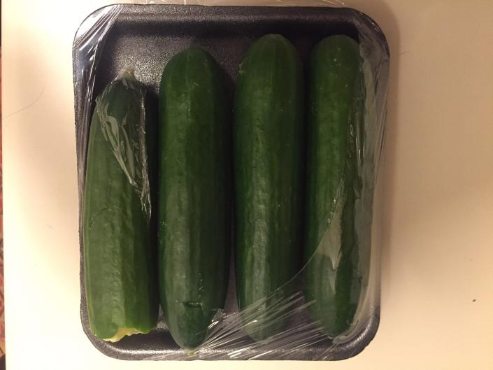 Cucumbers are extremely hydrating.