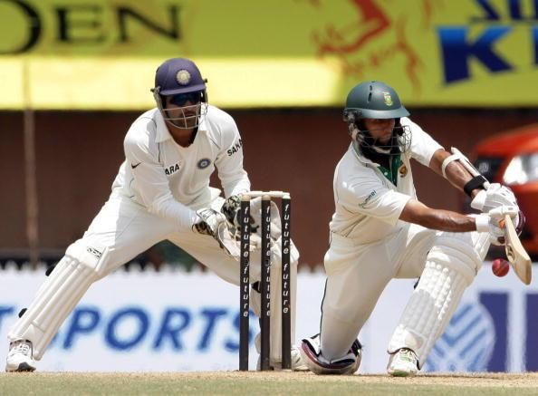 First Test - India v South Africa: Day 2 : News Photo
