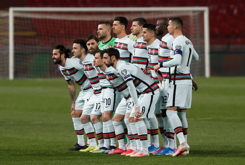FILE PHOTO: World Cup Qualifiers Europe - Group A - Serbia v Portugal