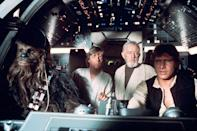 """<a href=""""http://movies.yahoo.com/movie/star-wars/"""" data-ylk=""""slk:STAR WARS"""" class=""""link rapid-noclick-resp"""">STAR WARS</a> (1977) <br>Directed by: <span>George Lucas</span> <br>Starring: <span>Mark Hamill</span>, <span>Harrison Ford</span> and <span>Carrie Fisher</span>"""