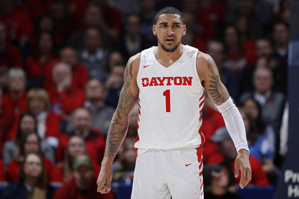 Obi Toppin was a unanimous All-American and the AP National Player of the year at Dayton. (Photo by Joe Robbins/Getty Images)