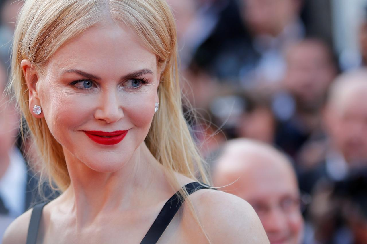 """70th Cannes Film Festival - Screening of the film """"The Killing of a Sacred Deer"""" in competition - Red Carpet Arrivals - Cannes, France. 22/05/2017. Cast member Nicole Kidman poses. REUTERS/Stephane Mahe     TPX IMAGES OF THE DAY"""