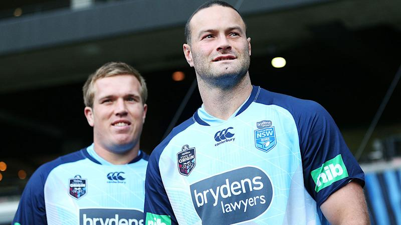 Pictured here, Jake Trbojevic and Boyd Cordner have been integral to the Blues' success.