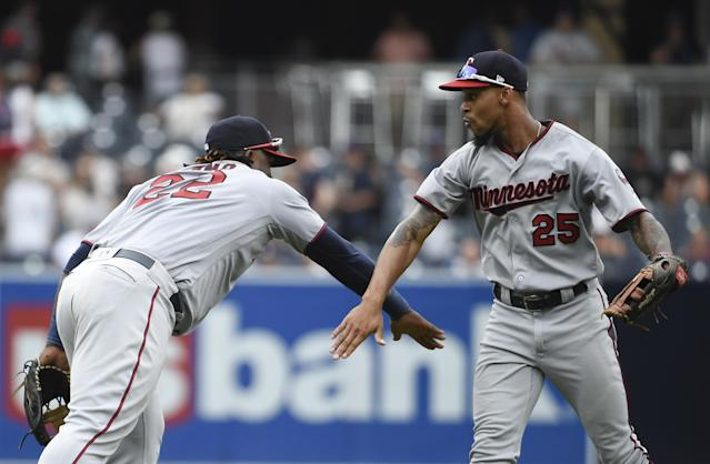 Otani would fit well with the young, promising Twins. (Photo by Denis Poroy/Getty Images)