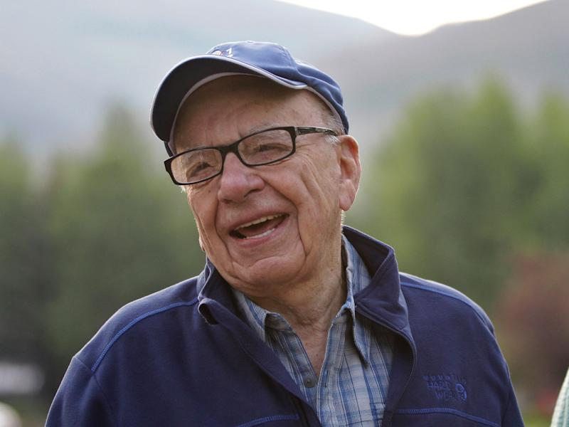Mr Murdoch's youngest son has privately told people he is embarrassed by some of the coverage on Fox News: AP