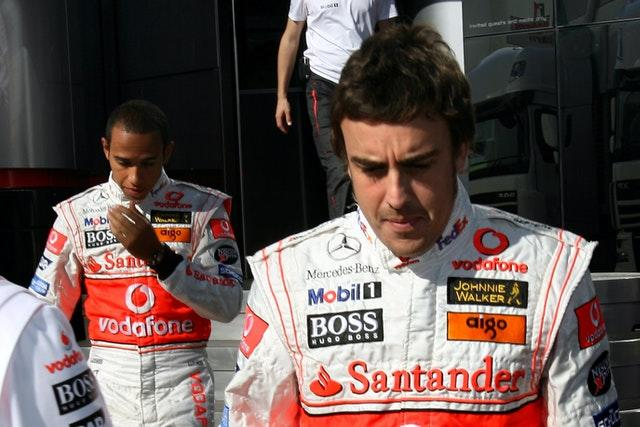 Lewis Hamilton and Fernando Alonso endured a difficult relationship