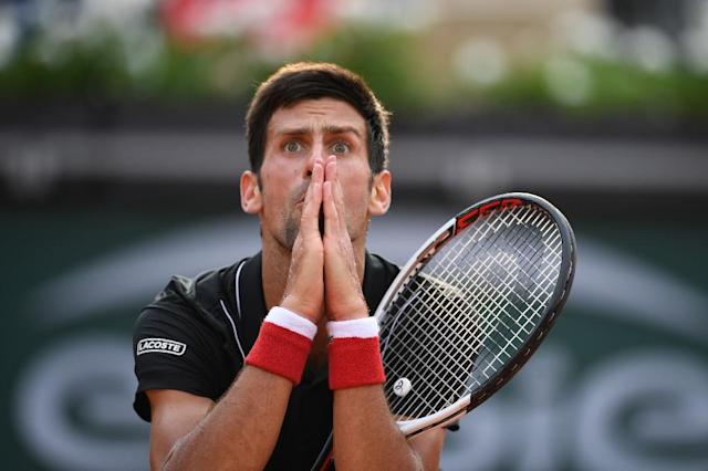 SNovak Djokovic insists he would happily miss a first appearance for Serbia in the World Cup final if it means he is back in the Wimbledon title match (AFP Photo/Eric FEFERBERG)