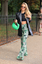 <p>Here's how to wear those printed flares you bought for festival season in autumn.</p>