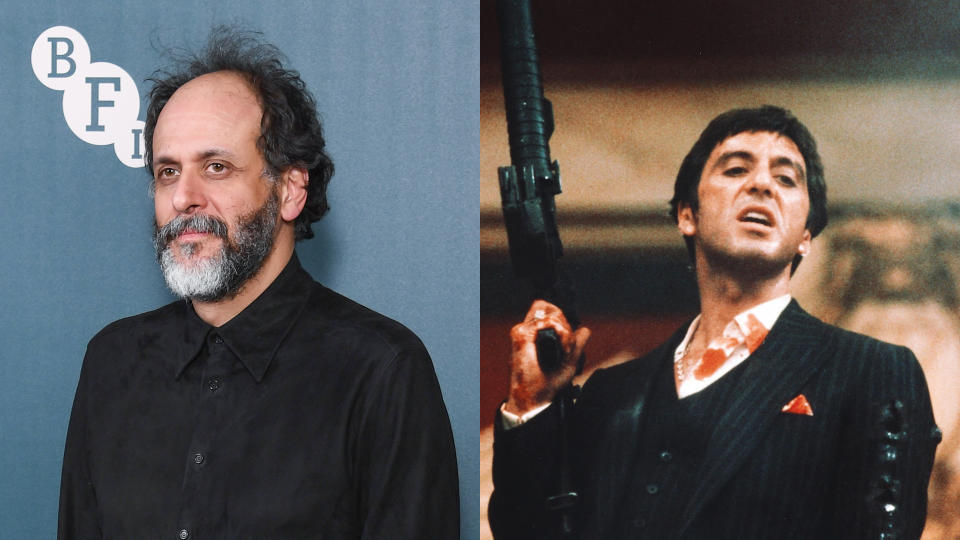 Luca Guadagnino will direct the remake of 'Scarface'. (Photo: Gareth Cattermole/Getty Images/Universal)