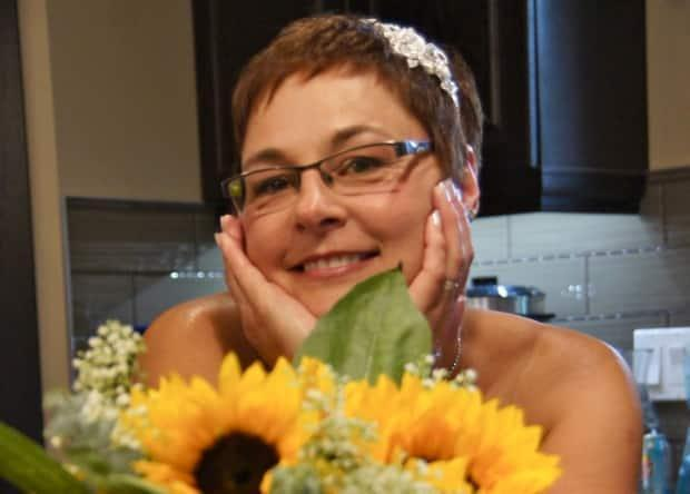 Sharon Durham has undergone four surgeries for her aggressive cancer. A fifth was scheduled in Alberta this week, but was cancelled as the province's health-care system is overwhelmed by COVID-19 cases. (Submitted by Sharon Durham - image credit)