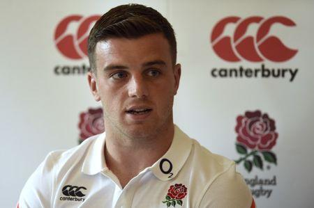 Britain Rugby Union - England Press Conference - Pennyhill Park, Bagshot, Surrey - 25/5/17 England's George Ford during the press conference Action Images via Reuters / Adam Holt Livepic