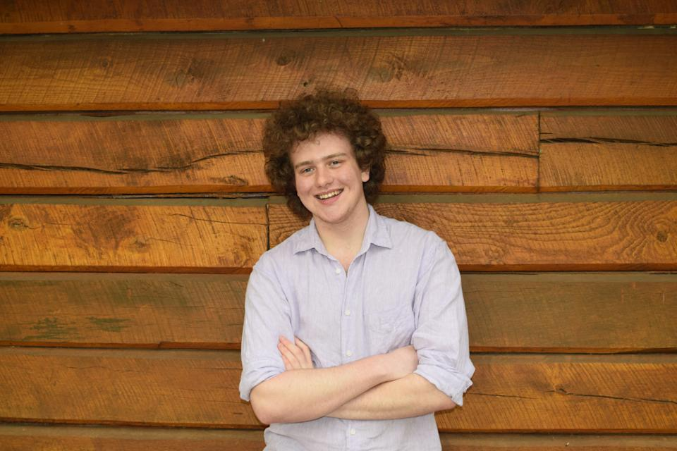 Sam Weinberg, 19, is founder and executive director of the Settle for Biden organization.