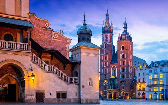 Kraków brims with atmosphere with narrow, cobbled streets radiating off the impressive 13th-century Market Square