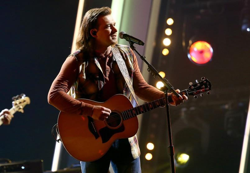 """Morgan Wallen performs at """"The 54th Annual CMA Awards"""" broadcast on Wednesday, November 11, 2020 in Nashville."""