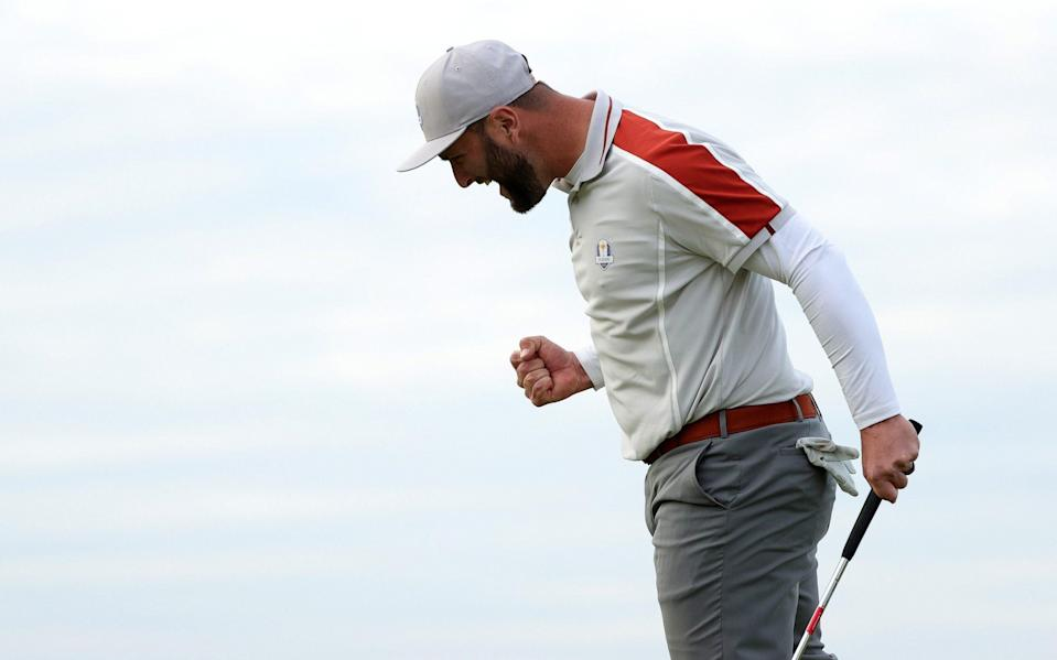Jon Rahm has been one of the few star performers for Europe - Getty Images