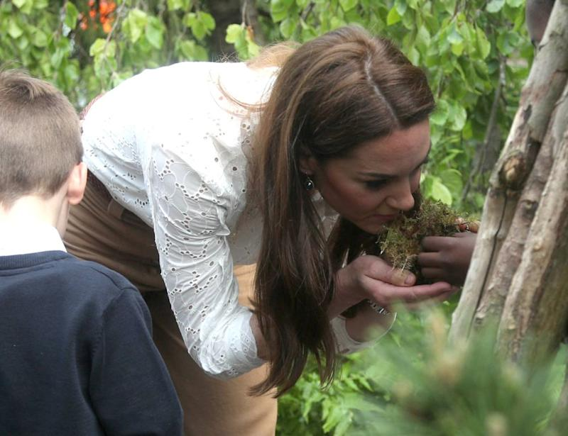 Kate Middleton in her Back to Nature Garden. | Yui Mok – WPA Pool/Getty Images