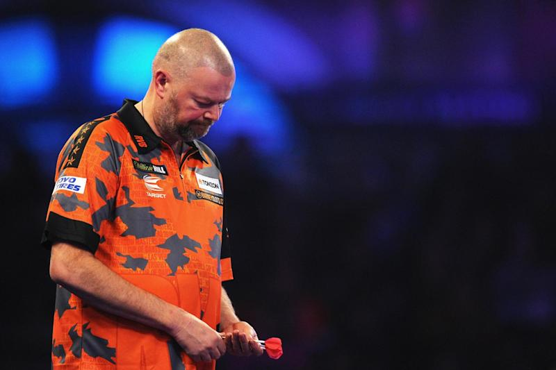 Bowing out: Raymond van Barneveld: Getty Images