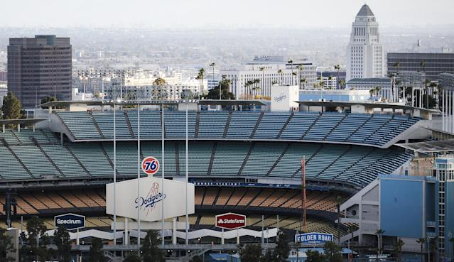 With fans barred from stadiums for the foreseeable future, MLB has cleared the path for ticket refunds. (Mario Tama/Getty Images)