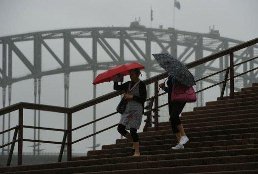 Sydney has experienced one of its wettest summers in decades