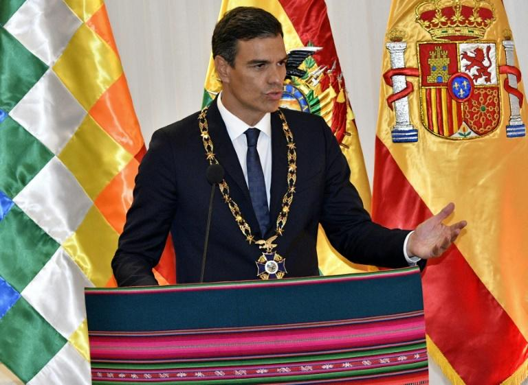 "Spanish Prime Minister Pedro Sanchez said he wanted the Valley of the Fallen to be ""a civilian cemetery"" for the victims of the civil war and the Franco regime"