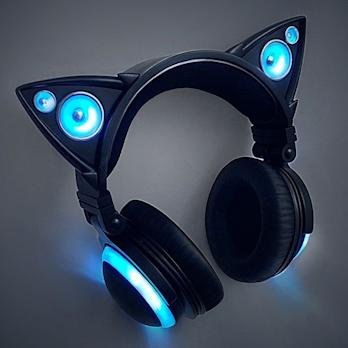 2127f58c1ad Much-Anticipated Cat Ear Headphones Now Available for Pre-Order at  Brookstone.com