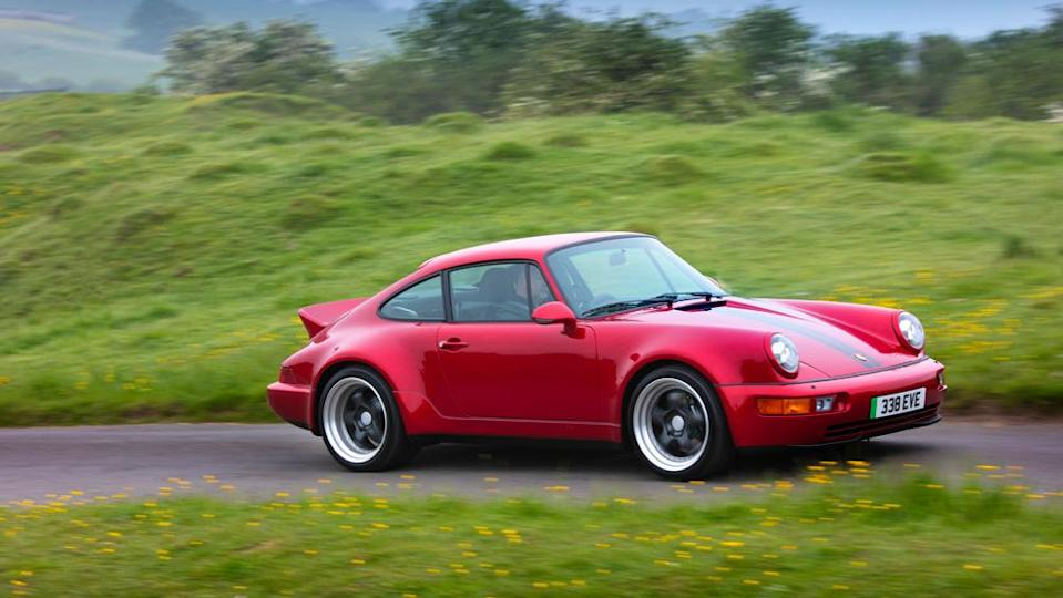 The all-electric Porsche 964 restomod from Everrati Automotive Limited. - Credit: Photo by Alexp.com, courtesy of Everrati Automotive Limited.