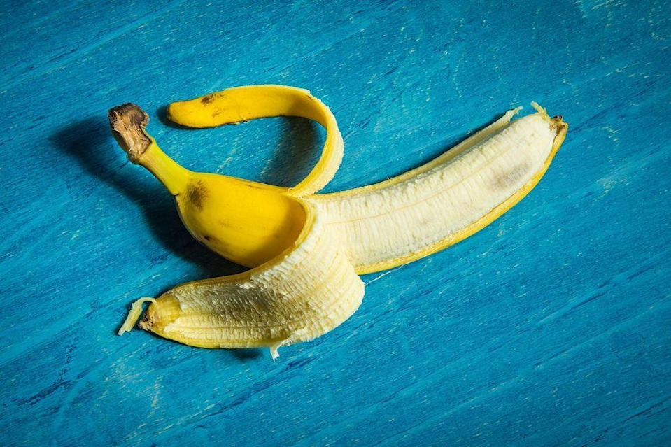 """<p>Because they're loaded with several kinds of good-for-you nutrients, <a href=""""https://www.healthline.com/nutrition/11-proven-benefits-of-bananas"""" rel=""""nofollow noopener"""" target=""""_blank"""" data-ylk=""""slk:Healthline"""" class=""""link rapid-noclick-resp"""">Healthline</a> says that bananas may help you flight cancer, asthma, high blood pressure, diabetes, and heart disease.</p><p><strong>Recipe to try:</strong> <a href=""""https://www.womansday.com/food-recipes/food-drinks/recipes/a11016/pbj-banana-pancakes-recipe-wdy0113/"""" rel=""""nofollow noopener"""" target=""""_blank"""" data-ylk=""""slk:PB and J Banana Pancakes"""" class=""""link rapid-noclick-resp"""">PB and J Banana Pancakes</a></p>"""