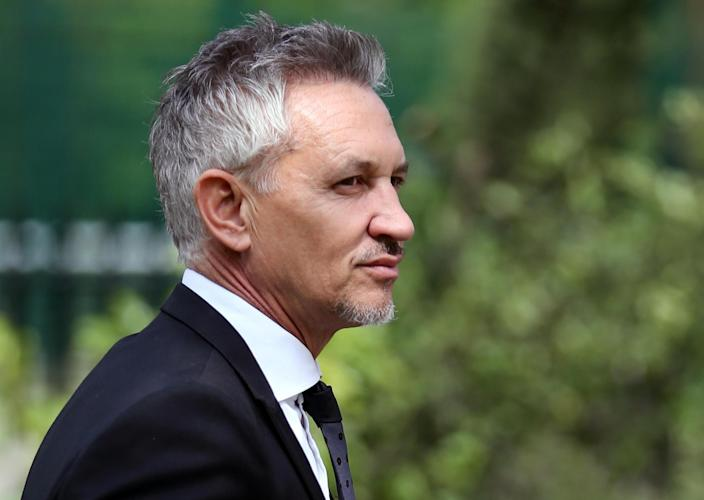 Gary Lineker was the highest earner for the second year running. (PA)