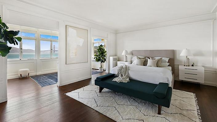 The master bedroom. - Credit: Photo: Courtesy of Lunghi Media Group for Sotheby's International Realty