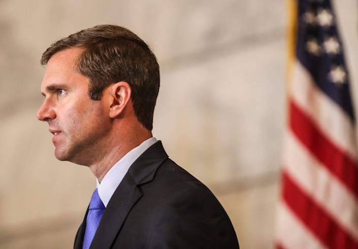 """Gov. Andy Beshear is asking Kentuckians to """"do better"""" in protecting others from the coronavirus as cases surge."""