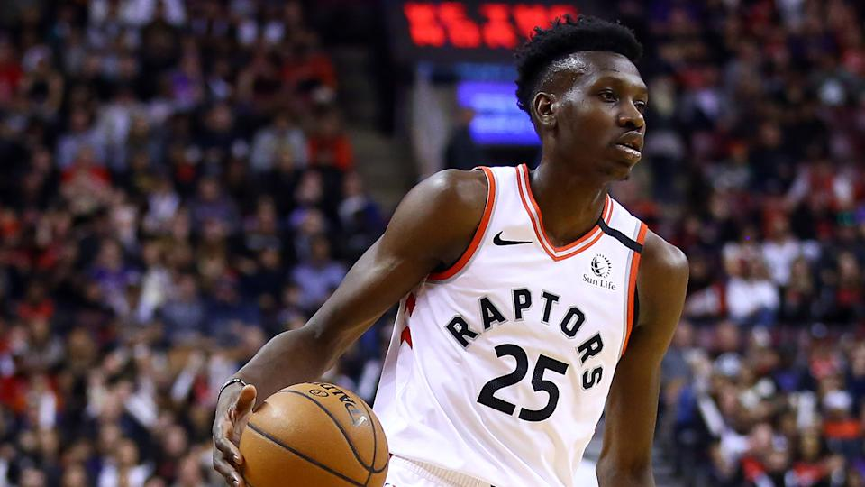 The Raptors would be wise to bring back Chris Boucher next season. (Photo by Vaughn Ridley/Getty Images)