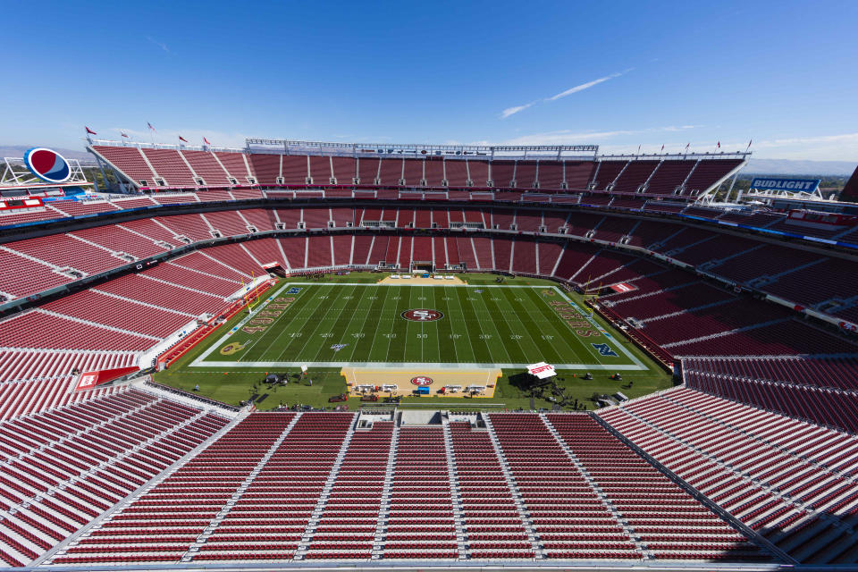 Levi's Stadium. Foto: Ric Tapia/Icon Sportswire via Getty Images