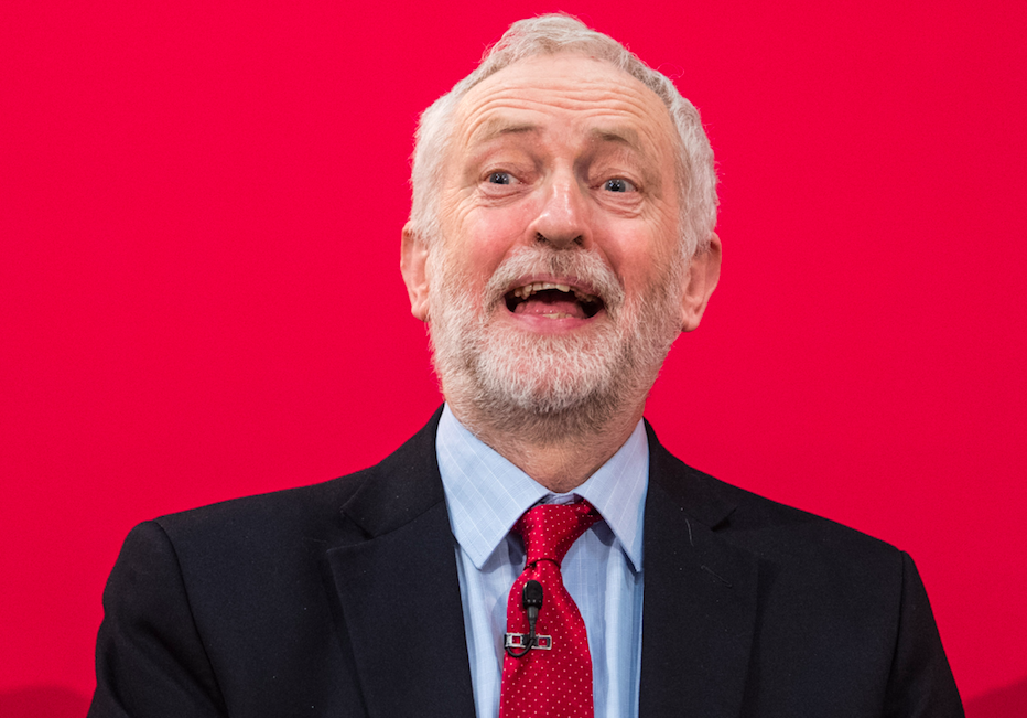 <em>The Labour leader apologised for 'pockets of anti-Semitism' in Labour (Rex)</em>