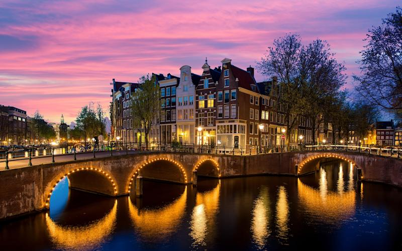 Amsterdam is fun, relaxed and beyond attractive – it's a European city made for simply strolling (or cycling) around - Prasit Rodphan