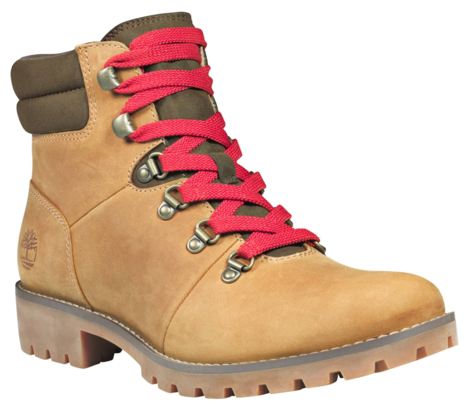Timberland Ellendale Water Resistant Hiker Boot in Wheat Full Grain Leather