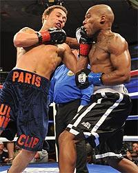 Vernon Paris (left) is considered one of boxing's rising stars and was signed by Don King in 2011